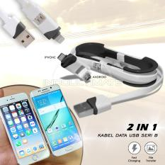 Ultimate Cable Data/Charger iPhone Samsung 2 in 1 seri B