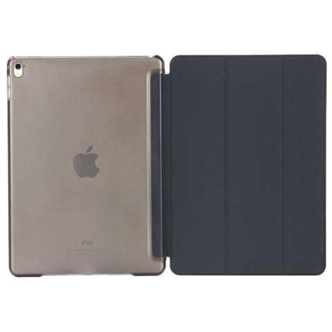 Ultra Thin Tri Fold Leather Hard Case for iPad Pro 9.7 Inch s6252 - Black