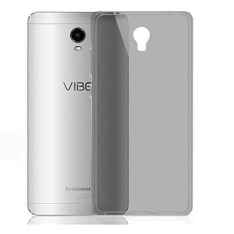 Ultra TPU Thin Case for Lenovo Vibe P1 - Abu Abu Transparan