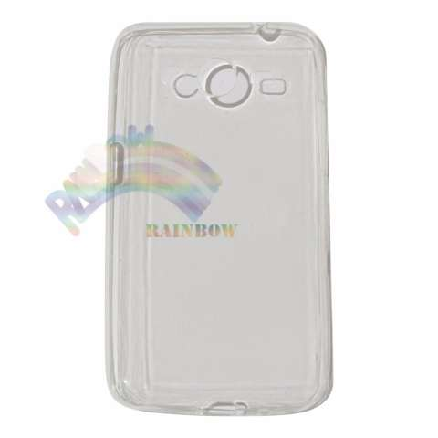Ultrathin Samsung Galaxy Core 2 G355H Ultrathin Jelly Air Back Case 0.3mm / Silicone Soft