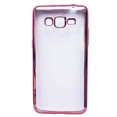 Ultrathin Silicon Case for Samsung Galaxy G530 / Grand Prime - Rose Gold