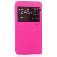 Ume Flipcase Flipshel For OPPO JOY Plus R1011 Flipcover - Pink