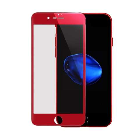 Ume Full 3D Tempered Glass Screen Protector for iPhone 7 - Merah