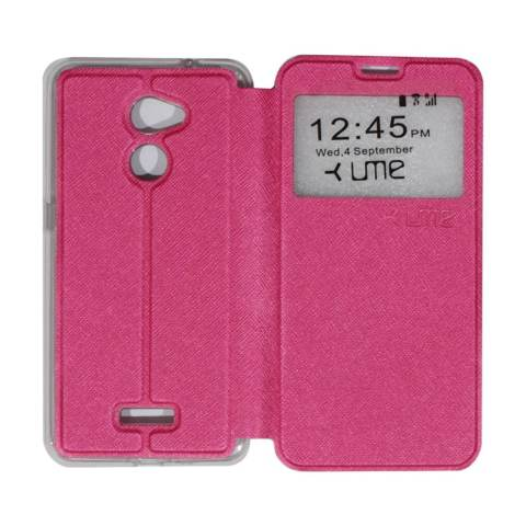 Ume Coolpad Fancy 3 E503 Ukuran 5.5 Inch Leather Case Sarung / Flipshell / Flip Cover