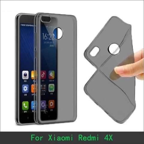 ... Ume TPU Soft Case Casing Cover for Xiaomi Redmi 4X Abu abu