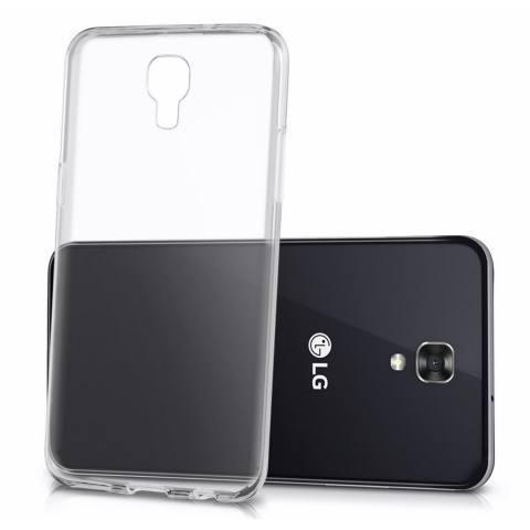 Ume TPU Soft Case LG X Screen Casing Cover - Transparan
