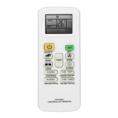 Universal LCD Layar A/C Air Conditioner Remote Control Pengkondisian Controller untuk HAIER Midea LG TCL FUJITSU TAJAM Putih -Intl