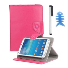 Universal Leather Cover Case For Alcatel OneTouch POP 7 Tablet +Pen HOT