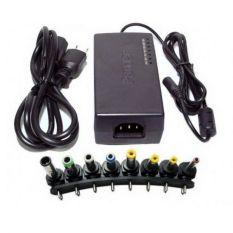 Universal Power Adaptor dan Kabel Charger Cas Laptop / Notebook Lengkap - Hitam