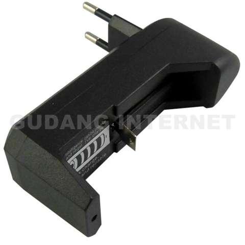 Universal Quick Charger Safe And Reliable Desktop Single Slot Baterai Vape Rokok Eletrik AWT 18650 18350
