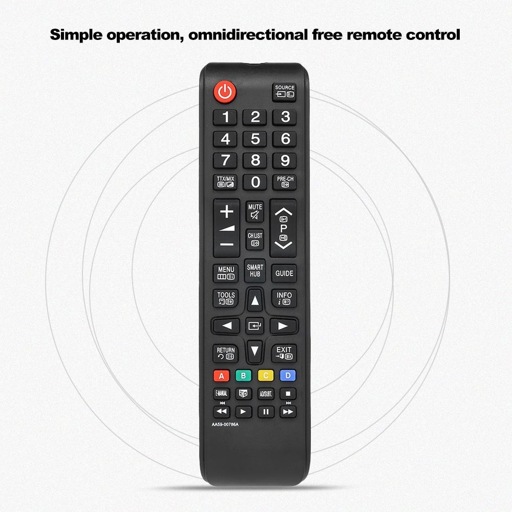 Universal TV Remote Control Wireless Smart Controller Replacement for Samsung HDTV LED Smart Digital TV Black - intl