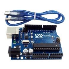 UNO R3 MEGA328P ATMEGA16U2 Development Board + USB Cable Compatible for Arduino - intl