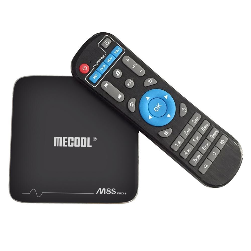 US PLUG 2GB RAM + 16GB ROM MECOOL M8S Pro+ TV Box 2.4GHz WiFi Support 4K x 2K