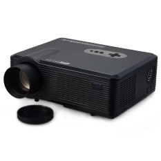 US PLUG Excelvan CL720D LED Projector 3000 Lumens 1280 x 800 Pixels with Digital TV Interface for Home Entertainment - intl