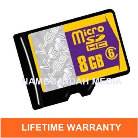 Microsd V Gen Turbo 8gb Adapter Class 10 85mb S Microsd Vgen Memory Source · V Gen Micro SD 8 GB Class 6 Memory Card