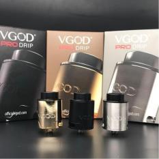 VGOD RDA Pro Drip 24mm - Atomizer Rokok Elektrik - Stainless Random
