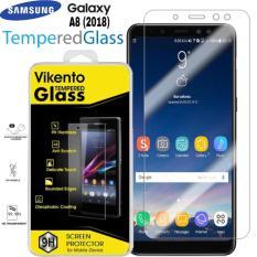 Vikento Glass Tempered Glass for Samsung Galaxy A8 2018 Clear - Anti Gores Kaca / Screen Guard / Screen Protector / Pelindung layar