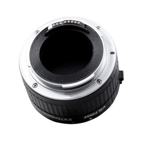 VILTROX DG-G Otomatis Focus AF TTL Ekstensi Tabung Lingkaran 12 Mm 20 Mm 36 Mm Set Logam Dudukan dengan Penutup untuk Canon EF EF-S 35 Mm Lensa DSLR Kamera-Internasional 4