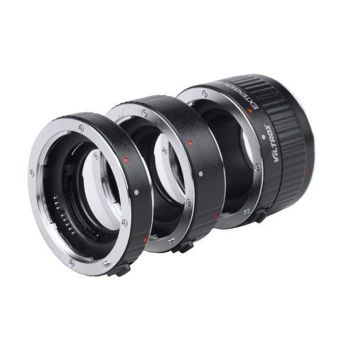 VILTROX DG-G Otomatis Focus AF TTL Ekstensi Tabung Lingkaran 12 Mm 20 Mm 36 Mm Set Logam Dudukan dengan Penutup untuk Canon EF EF-S 35 Mm Lensa DSLR Kamera-Internasional 3