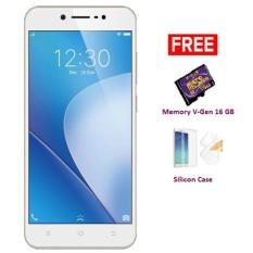 VIVO V5 LITE - 32 GB - Gold + Free Memory V-Gen 26 GB, SIlicon Case