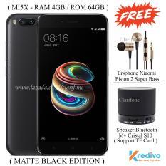 Xiaomi Mi5x - Ram 4GB - Rom 64GB - 4G - Fingerprint - Matte Black