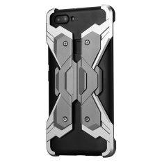 Vivo X20 Plus Case, Mooncase Premium Aluminium Bumper Metal Case [Replaceable Backplane] Armor Shockproof Protective Rugged Cover