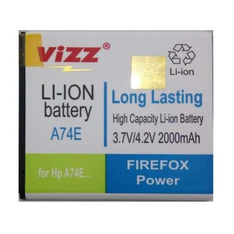 Vizz Battery for Evercoss A74E - Double Power - 2000mAh