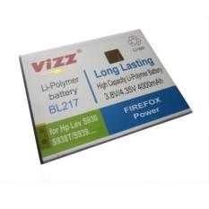 Vizz Battery for Lenovo S930/S938T/S939 Double Power 4000mAh