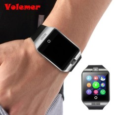 Volemer Hot Q18 Smart Watch Waterproof Smartwatch Sport Watch WristWatch Support NFC SIM Card Camera For Samsung Android Phone - intl