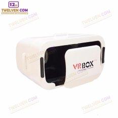 VR BOX GENERESI KE 3 - 3D Virtual Reality for Smartphone - Ukuran Lebih Kecil - Putih