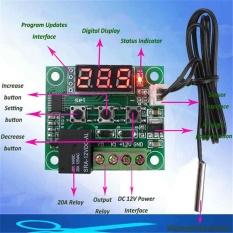 W1209 DC 12 V Thermostat Kontrol Suhu Saklar Regulator Thermometer Sensor-Intl
