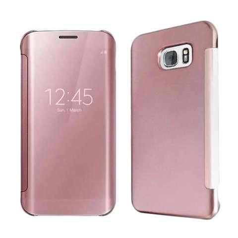 Case For Samsung Galaxy J7 2015 J700 Aluminium Bumper With Mirror Source · Wallet Mirror View Flip Cover Samsung Galaxy J7 Prime Rose Gold