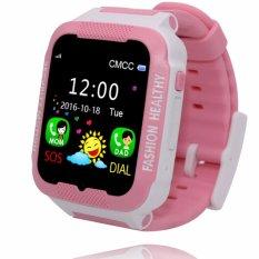 tahan air C3 Smartwatch GPS Tracker kids Smart watch ponsel penopang SIM kartu Anti kehilangan SOS memanggil anak Bluetooth aktivitas Finder kebugaran Tracker Wrist Watch gelang keselamatan Monitor APP orangtua kontrol untuk iOS Android