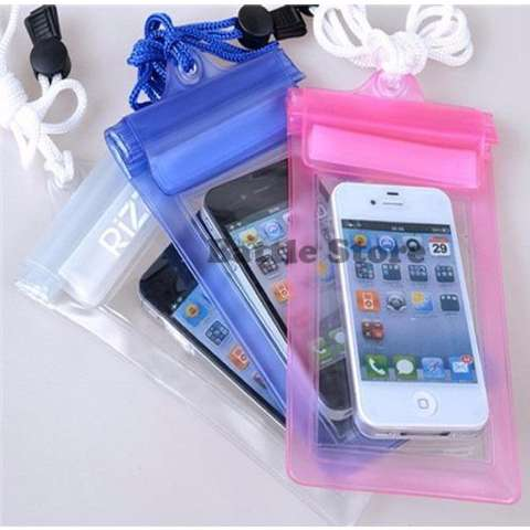 Waterproof Case Hp / bungkus Hp Tahan Air For Smartphone Up to 5,5