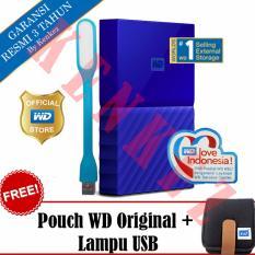 WD My Passport New Design 2TB Portable Storage USB 3.0 - Biru Harddisk Eksternal 2.5