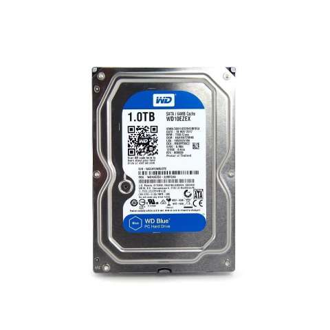 WD Western Digital Harddisk PC Internal - 1 TB - Silver