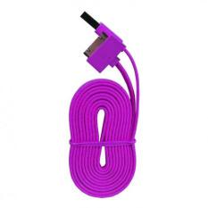 Wellcomm Kabel Data For Iphone 4/4s - Ungu
