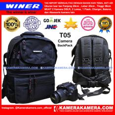 WINER T05 - IMPORT CAMERA BACKPACK for DSLR and Lens CANON NIKON SONY PANASONIC FUJIFILM