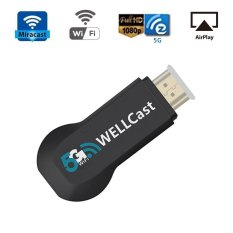 Womdee 5G WIFI Display Miracast Dongle HDMI Adapter Receiver 1080p Streaming Media Player Share Videos Images Docs Live Camera Musics - intl