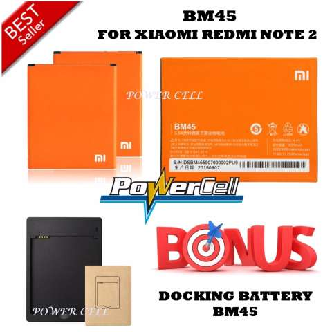 Anggaran Terbaik Xiaomi Baterai Battery BM45 For Xiaomi Redmi Note Source · gratis universal headset Source Xiaomi Baterai BM45 For Xiaomi Redmi Note