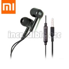 Xiaomi Handsfree Hifi 3.5mm Stereo Portable Headset/Earphone/In ear - Hitam