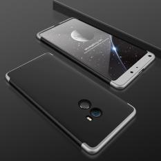 Xiaomi Mi Max 2 Case, Moon Case Frosted Armor Hard Pc Back Cover 360 Seluruh Badan Shockproof Protective dengan 3 Bagian Yang Dapat Dilepas Casing Ponsel (seperti Yang Ditunjukkan) -Intl