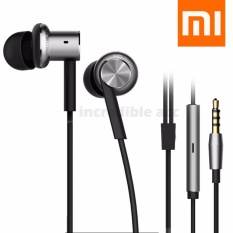 Xiaomi Mi Piston 4 Headset for Xioami Mi A1 Hybrid Dual Drivers Earphones Headset In-Ear HiFi Earphones 3.5mm HD Audio - Black