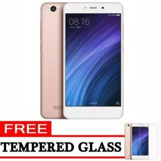 Xiaomi Redmi 4A - 16GB - Rose Gold - ( Ready Bhs Indonesia & 4G LTE + Free Tempered Glass