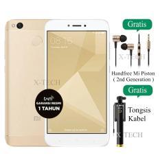 Xiaomi Redmi 4X Prime - Ram 3GB - Rom 32GB - 4G/LTE - Fingerprint - Garansi Resmi TAM