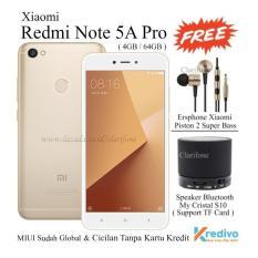XIAOMI REDMI NOTE 5A PRO-RAM 4GB-ROM 64