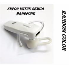 XIAOMI Wireless Bluetooth _Random color_  Headset v4.1 for Xiaomi/universali - PUTIH-HITAM