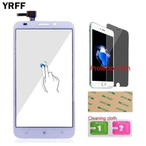 YRFF 5.5 ''Kaca Depan untuk Lenovo A916 Mobile Touch Screen Digitizer Touch Panel Sensor