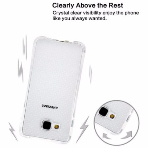 Zenblade Anti Shock Anti Crack Softcase Casing for Samsung J2 Prime - Free Tempered Glass 2