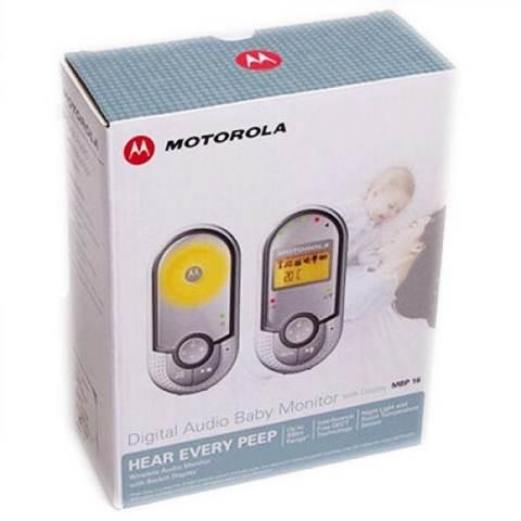 Motorola MBP16 Baby Monitor 2 Arah - Putih 2